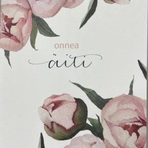 Kaksipuolinen kortti, kukat